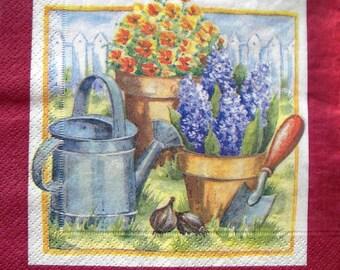 """""""Garden"""" towel"""