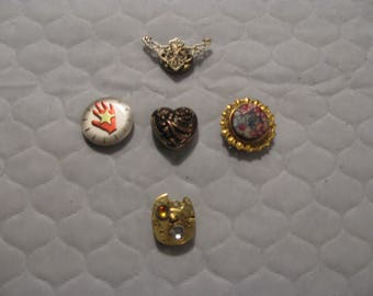 Vintage Button Covers - 1960's
