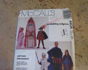 Vintage McCalls Size 2/4 Costume Pattern