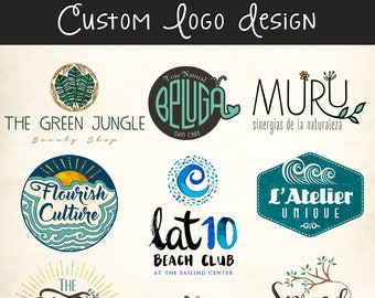 Custom Basic Logo and Business Card Design Package - Professional Branding Company Business Graphic Design Service