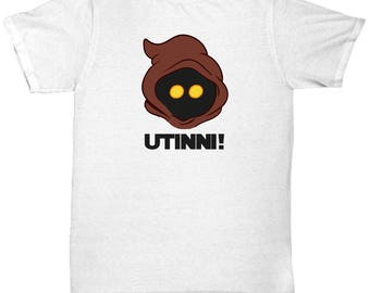 Star Wars Jawa Utinni! Shirt Gift for Nerds Funny Droids Coffee Cup Tatooine