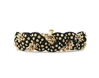 NEW Braided Bracelet in Jet