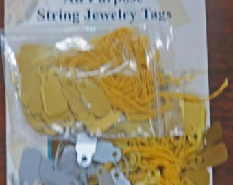 Jewelry String Tag - All Purpose String Jewelry Tags - Avery and ?