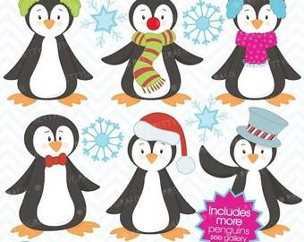 80% OFF SALE 80 Percent 0FF Sale penguin clipart commercial use, vector graphics, digital clip art, digital images  - Cl401