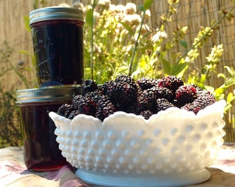 8 ounce jar, Marionberry Jam, Naturally grown, Oregon, Pacific Northwest