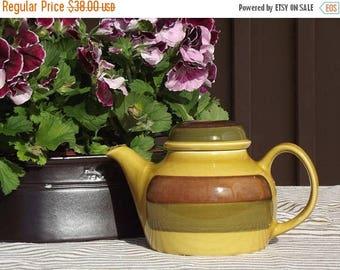Summer sale Ceramic Teapot. Stavangerflint Norway. Norway teapot. Stavangerflint  teapot. Scandinavian ceramic. Scandinavian vintage 1970s.