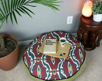 Floor pillow ~ pillow cover~ floor seating ~ boho seats ~ free spirit chair