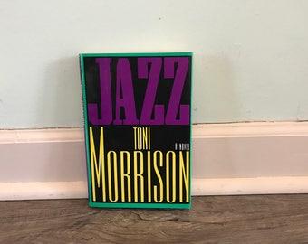 """Toni Morrison """"Jazz"""" Hardback Novel"""