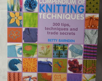 Compendium For Knitting Techniques - Betty Barnden - Paperback