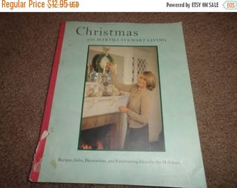 50% OFF Christmas with Martha Stewart living book vintage