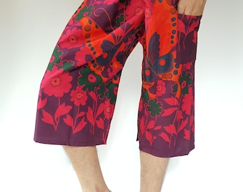 F30015 Thai fisherman/Yoga are pants Free-size: Will fit men or woman