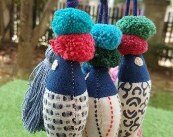 Get 3 Fish Cute Dolls Handmade for decoration