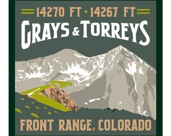 Grays & Torreys Print