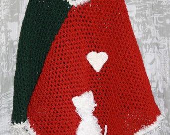 child 8/10Y hooded poncho