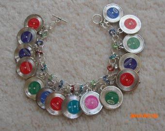MY WRIST Has Gone PLATINUM! gumball rccord charm bracelet