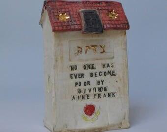 Anne Frank House Tzedakah Box