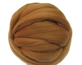 SALE 16 Micron Merino wool Roving Luxury Fiber for felters and spinner (Marrakech)