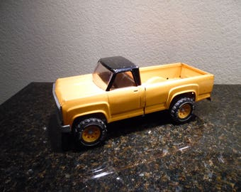 Vintage Tonka Orange Truck,  Solid Metal Truck, Gift for Men, Toy Truck, Toys