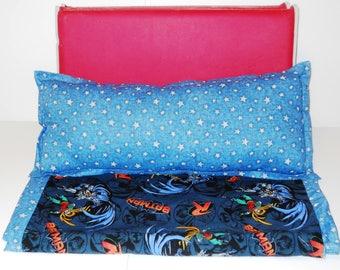 Batman Nap Mat Cover with Pillow Daycare Mat Cover Preschool Mat cover Batman and Robin