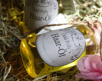 Odd Polly's hair-oil, conditioner and mask, natural cosmetics