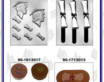Graduation Chocolate Molds (F)