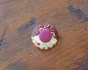 """Clip brooch-PIN button """"Tassel Japan"""" F"""