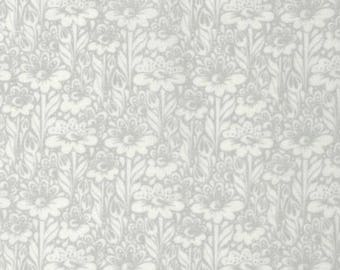 Daisy Buds in Silver from True Colors by Tula Pink for Freespirit Fabrics, by the fat quarter or half yard