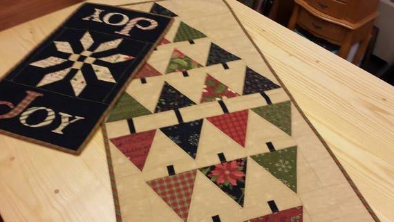 Glad Tidings Table Topper Quilt Kit