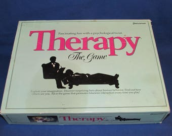 THERAPY THE GAME 1986 Pressman Party Game