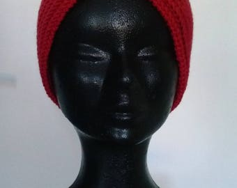 Wide headband, pure wool for winter!