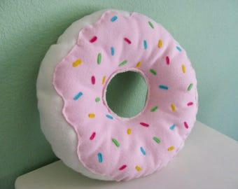 Large Donut Pillow