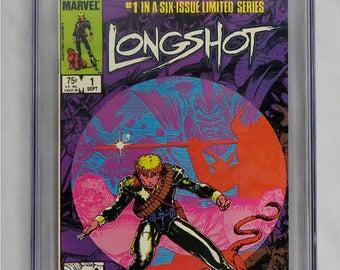 Marvel Longshot #1 CGC Universal Grade 9.0 1st Longshot & Spiral - White Pages