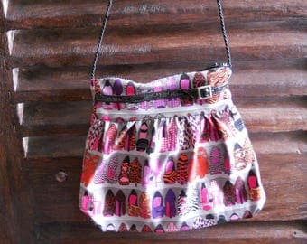 bag chic shoes pattern