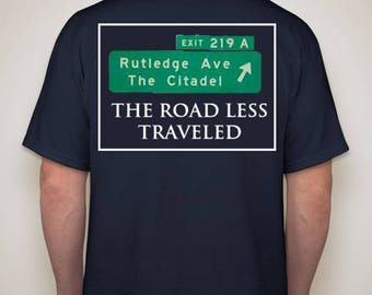 The Road Less Traveled shirt