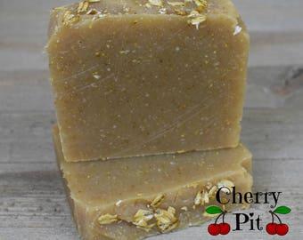 Oatmeal, Milk & Honey Shea Butter Soap - Handmade Soap - All Natural Shea Butter Soap