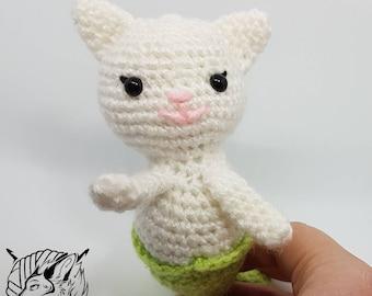 Purrmaid - Art Doll