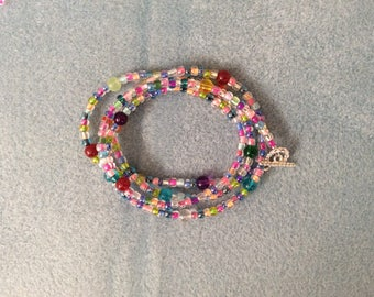Multi color bracelet/necklace