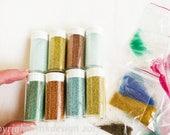 Glass Micro beads large lot