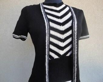 Joan Leaslie Two Piece Sweater Set