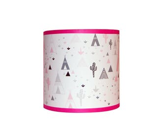 "Applique ""in my pink teepee"""