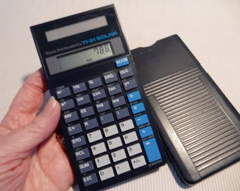 Texas Instruments TI-31 Solar Scientific Calculator