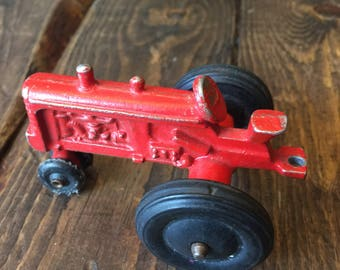 Toy Tractor with Plow