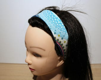 Heaband multicolored woman hair