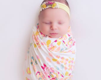 NEW* Knit Swaddle Blankets - PEYTON