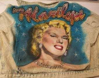Marilyn Monroe Jean Jacket