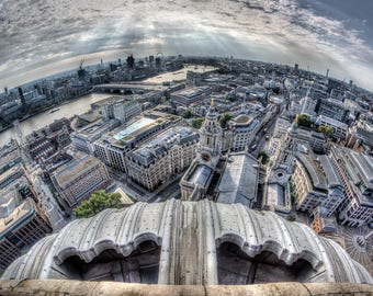 London from St Pauls Cathedral