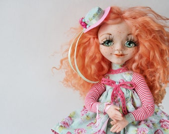 OOAK (12in) -Sweet doll-Art doll-Collectable doll-Decor doll-Home doll-Unique doll-magic doll by Master Oksana Ponomarenko