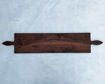 50 Inch- Double Handle Wooden Serving Platter- by Red Maple Run- Cutting Board- Gift for Foodie