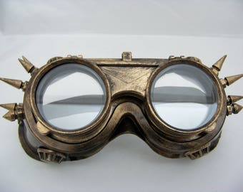 Bronze Steampunk Goggles 5014