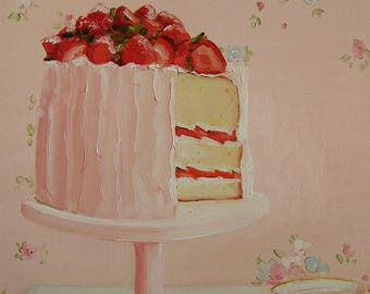 Strawberry Afternoon - Print